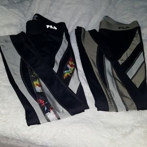 FILA Running legging bundle (X